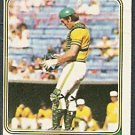 OAKLAND ATHLETICS RAY FOSSE 1974 TOPPS # 420 VG