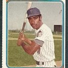 NEW YORK METS TED MARTINEZ 1974 TOPPS # 487 VG