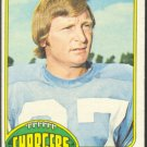 SAN DIEGO CHARGERS GARY GARRISON 1976 TOPPS # 95 VG