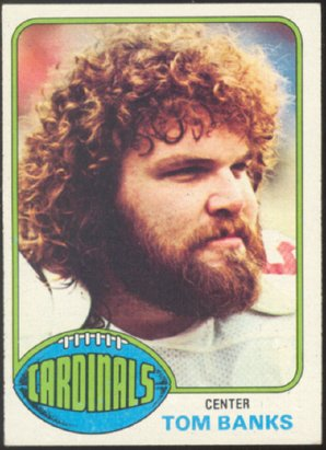 ST LOUIS CARDINALS TOM BANKS 1976 TOPPS # 498 EX