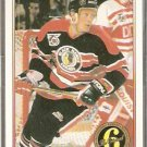 CHICAGO BLACKHAWKS JEREMY ROENICK ORIGINAL 6 91/92 OPC PREMIER # 174