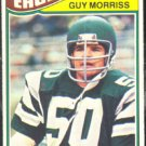 PHILADELPHIA EAGLES GUY MORRISS 1977 TOPPS # 163 EX/EX MT