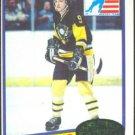 PITTSBURGH PENGUINS MARK JOHNSON ROOKIE CARD 80/81 TOPPS #69