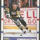 PITTSBURGH PENGUINS PAUL COFFEY SPEEDSTER 90/91 SCORE # 332