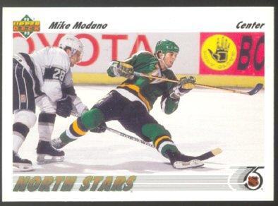 MINNESOTA NORTH STARS MIKE MODANO 91/92 UD #160