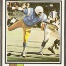 SAN DIEGO CHARGERS COY BACON ROOKIE CARD 1973 TOPPS # 149 VG