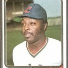 CLEVELAND INDIANS TED FORD 1974 TOPPS # 617 EX