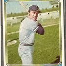 KANSAS CITY ROYALS GAIL HOPKINS 1974 TOPPS # 652 NR MT