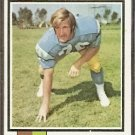 SAN DIEGO CHARGERS TERRY OWENS 1973 TOPPS # 284 VG