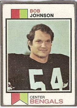 CINCINNATI BENGALS BOB JOHNSON 1973 TOPPS # 290 VG