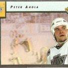 LOS ANGELES KINGS PETER AHOLA 92/93 UPPER DECK EURO ROOKIE TEAM # ERT4