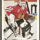 Chicago Black Hawks Ed Belfour 1991 Upper Deck Hockey Card # 164