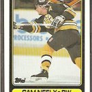 BOSTON BRUINS CAM NEELY 90/91 TOPPS # 69