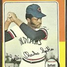 CLEVELAND INDIANS CHARLIE SPIKES 1975 TOPPS # 135 EX OC