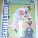 BOSTON RED SOX CURT SCHILLING 2004 BOSTON NEWSPAPER POSTER