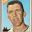CHICAGO CUBS TED ABERNATHY 1966 TOPPS # 2 VG