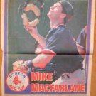 BOSTON RED SOX MIKE MACFARLANE 1995 BOSTON HERALD NEWSPAPER POSTER