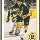 BOSTON BRUINS VLADIMIR RUZICKA ROOKIE CARD RC 90/91 UPPER DECK # 538