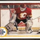 CALGARY FLAMES MIKE VERNON A.S. 90/91 UD # 495