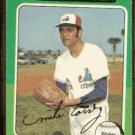 MONTREAL EXPOS MIKE TORREZ 1975 TOPPS # 254 VG/EX