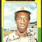 ATLANTA BRAVES ROWLAND OFFICE 1975 TOPPS # 262 VG