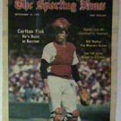 BOSTON RED SOX CARLTON FISK 1978 SPORTING NEWS PINUP