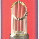 BOSTON RED SOX POCKET SCHEDULE WORLD CHAMPS