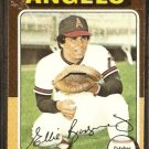 LOS ANGELES ANGELS ELLIE RODRIGUEZ 1975 TOPPS # 285 EX