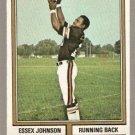CINCINNATI BENGALS ESSEX JOHNSON 1974 TOPPS # 35 EX