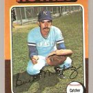 Kansas City Royals Buck Martinez 1975 Topps Baseball Card # 314 vg/ex