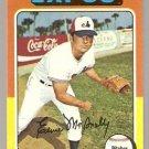 Montreal Expos Ernie McAnally 1975 Topps Baseball Card # 318