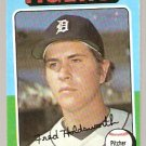 Detroit Tigers Fred Holdsworth 1975 Topps Baseball Card # 323 vg/ex