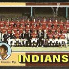 Cleveland Indians Team Card 1975 Topps Baseball Card 331 ex marked cl
