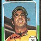 San Diego Padres Danny Frisella 1975 Topps Baseball Card 343 vg