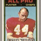 Kansas City Chiefs Jerrel Wilson 1974 Topps Football Card 144 vg