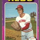 Cincinnati Reds Clay Kirby 1975 Topps Baseball Card 423 good