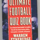THE ULTIMATE FOOTBALL QUIZ BOOK 1993 PAPERBACK