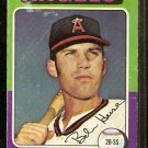 CALIFORNIA ANGELS BOBBY HEISE 1975 TOPPS # 441 G