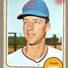 CHICAGO CUBS CHUCK HARTENSTEIN 1968 TOPPS # 13