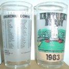 1983 Kentucky Derby Mint Julep Glass Churchill Downs Sunny's Halo