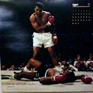 MUHAMMAD ALI vs SONNY LISTON LARGE COLOR PINUP PHOTO