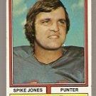 BUFFALO BILLS SPIKE JONES 1974 TOPPS # 423 EX