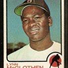 BOSTON RED SOX LYNN McGLOTHEN 1973 TOPPS # 114 G