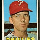 PHILADELPHIA PHILLIES PHIL LINZ 1967 TOPPS # 14 VG