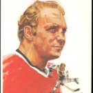 CHICAGO BLACK HAWKS BOBBY HULL 1972 ARTWORK