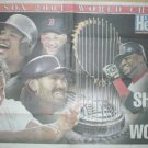 BOSTON RED SOX SHOCK WORLD 2004 POSTER CURT SCHILLING JOHNNY DAMON BIG PAPI DAVID ORTIZ MANNY