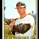 CALIFORNIA ANGELS RICK REICHARDT 1967 TOPPS # 40 EX