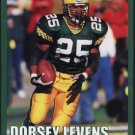 GREEN BAY PACKERS DORSEY LEVENS 2000 PINUP PHOTO