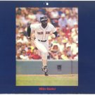 BOSTON RED SOX MIKE EASLER ORIGINAL 1985 PINUP PHOTO