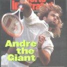 1992 SI ANDRE AGASSI STEFFI GRAF SELES WIMBLEDON OLYMPICS DALLAS COWBOYS ATLANTA BRAVES TOM GLAVINE